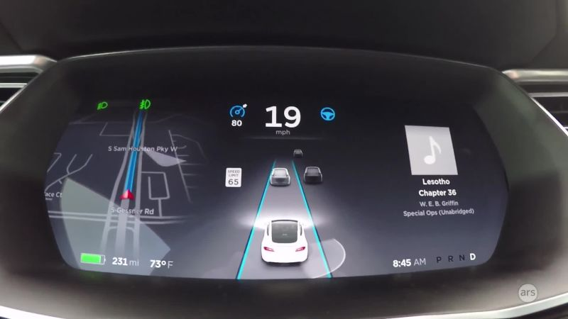 Four hundred miles with Tesla's autopilot forced me to trust