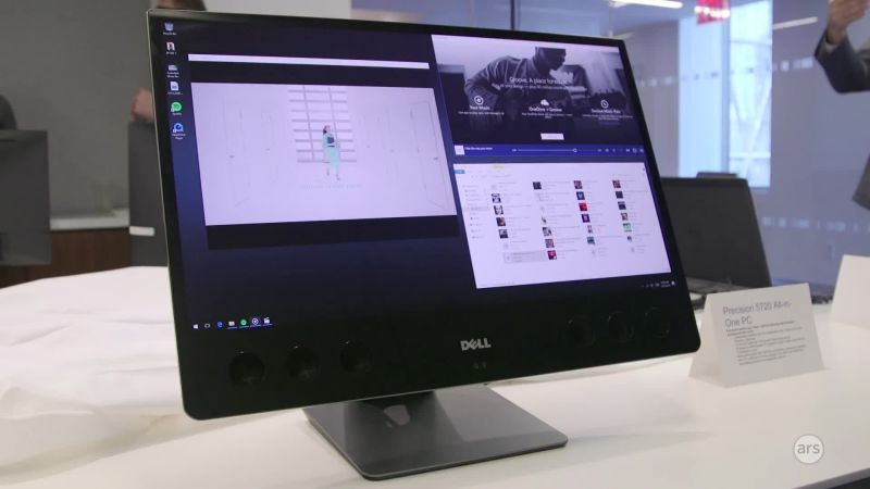 Dell caters to artists with new all in one xps 27 and canvas slab dell caters to artists with new all in one xps 27 and canvas slab display ars technica sciox Gallery