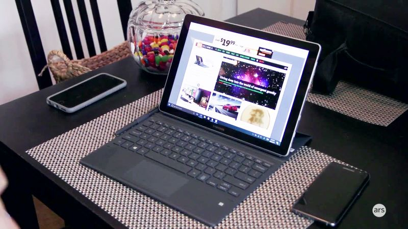 Samsung Galaxy Book review: A better TabPro S, but not a laptop