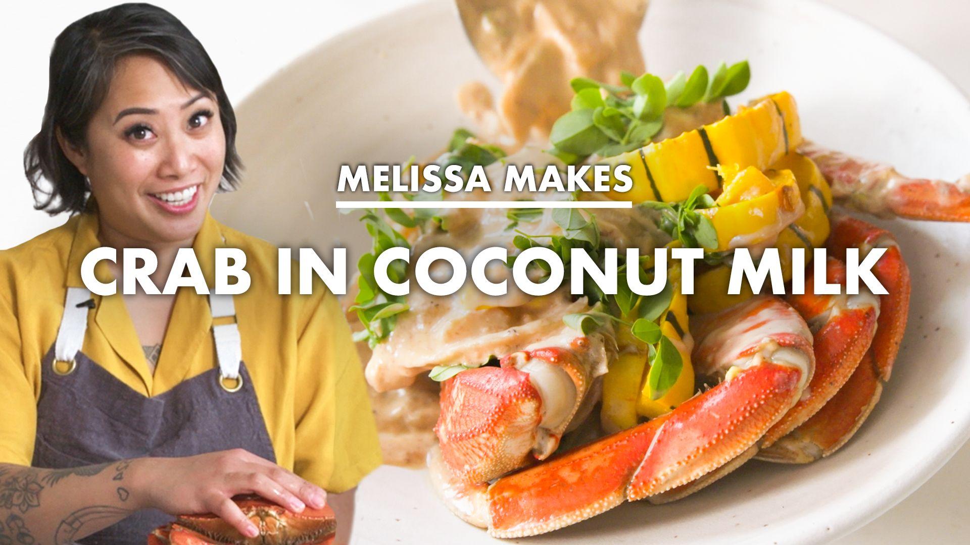 Watch From The Home Kitchen Melissa Makes Crab In Coconut Milk Ginataang Alimasag Bon Appetit Video Cne Bonappetit Com Bon Appetit
