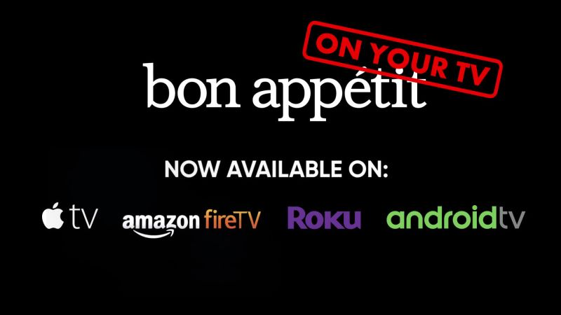 Bon Appétit, Now on Your TV | Bon Appétit