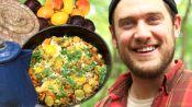 Brad Makes Campfire Breakfast