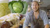 Brad Makes Sauerkraut