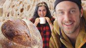 Brad and Claire Make Sourdough Bread