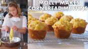 Molly Makes Cornbread Muffins with Honey Butter