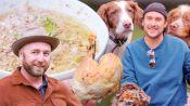 Brad Prepares and Cooks Pheasant