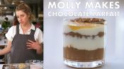 Molly Makes Dark Chocolate Chia Parfait
