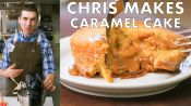 Chris Makes Molten Caramel Cake