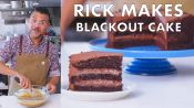 Rick Makes Chocolate Blackout Cake