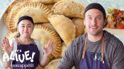 Brad and Gaby Make Beef Empanadas