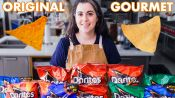 Pastry Chef Attempts to Make Gourmet Doritos