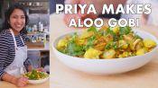 Priya Makes Roasted Aloo Gobi