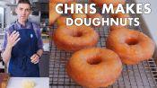 Chris Makes Doughnuts