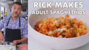 Rick Makes Adult SpaghettiOs
