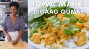 Hawa Makes Digaag Qumbe (Somali Stew)