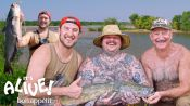 Brad and Matty Matheson Go Noodling for Catfish Part 1