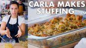 Carla Makes Thanksgiving Stuffing