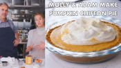 Molly and Adam Make Pumpkin Chiffon Pie