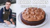 Chris Makes Easy Chocolate Cake