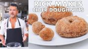 Rick Makes Apple Cider Doughnuts