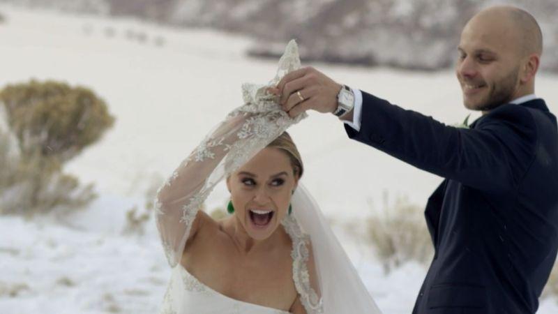 Watch Becca Tobins Emotional Wedding Video