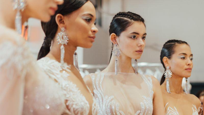 560c41aca77 Bridal Fashion Week 2019  Fall Collection