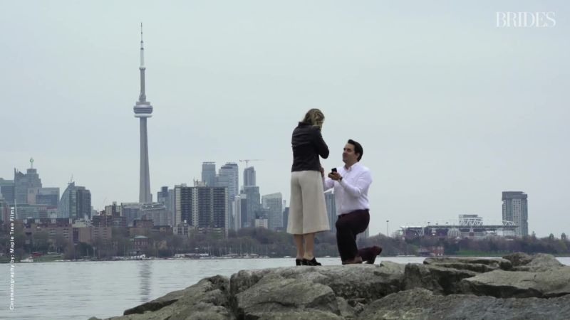 ddcb458bd0 Watch Marika and Graeme s Sweet Scavenger Hunt Proposal