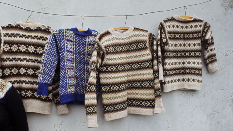 Why Fair Isle Sweaters Have a Three-Year Waiting List - Condé Nast