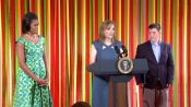 Epicurious @ The White House: Tanya Steel Speaks @ the Kids' State Dinner