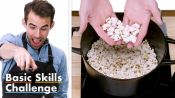 50 People Try to Make Stovetop Popcorn