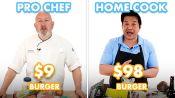 $98 vs $9 Burger: Pro Chef & Home Cook Swap Ingredients