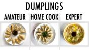 4 Levels of Dumplings: Amateur to Food Scientist