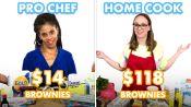 $118 vs $14 Brownies: Pro Chef & Home Cook Swap Ingredients