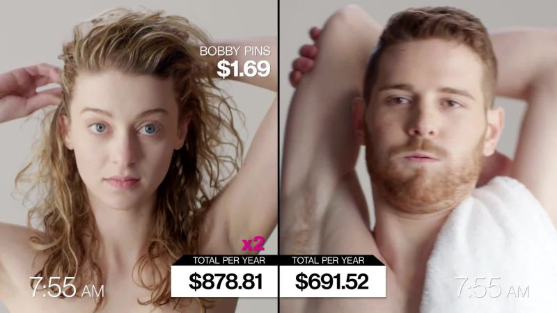 Heres How Much More It Really Costs To Be A Woman Than A Man Glamour