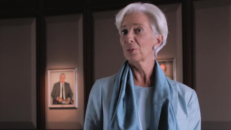 Christine Lagarde Shares Her Tips for Demanding Professional