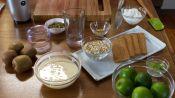How to Make a Healthy Kiwi Lime Pie