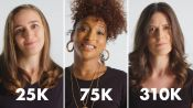 Women of Different Salaries on if Money Makes Them Happy