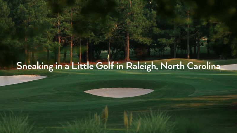 Sneaking In A Little Golf In Raleigh North Carolina