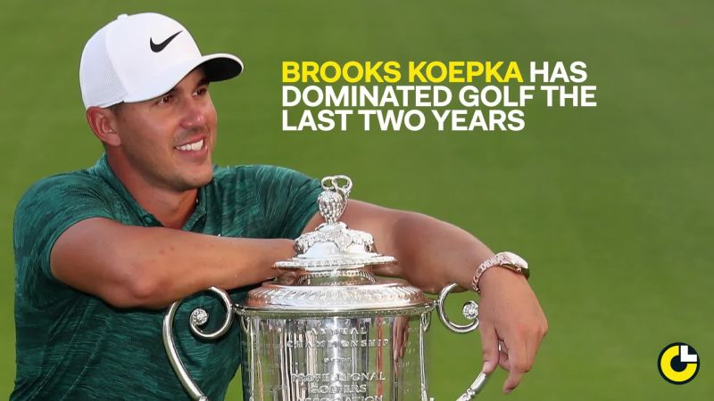 Brooks Koepka's floral hat is just part of Nike's U.S. Open