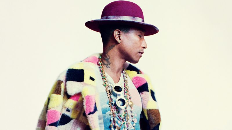 9973b26f Pharrell Rocks a Fancy Lady Jacket and Kills It 'Cause, Well, He's Pharrell  | GQ