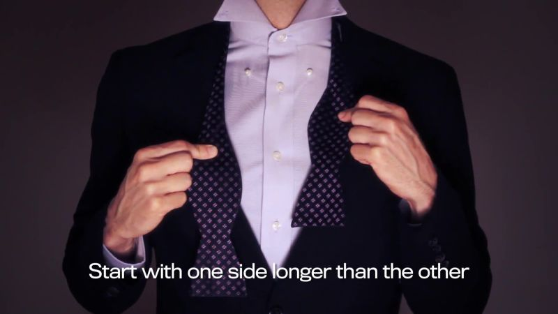 How to Tie a Bow Tie in 6 Simple Steps | GQ
