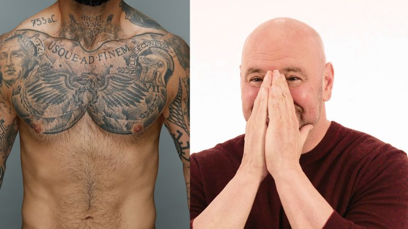 Watch Dana White Guess And Rate The Tattoos Of Ufc