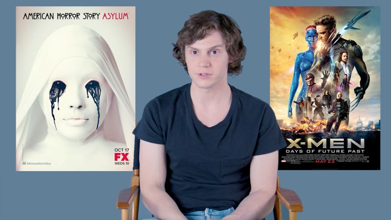 Evan Peters Is Much Chiller Than His Characters | GQ