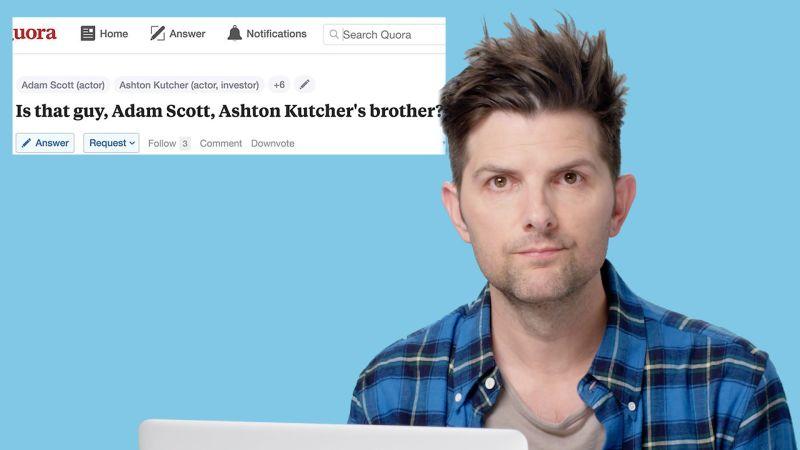 Adam Scott Goes Undercover on Reddit, Instagram, and Twitter