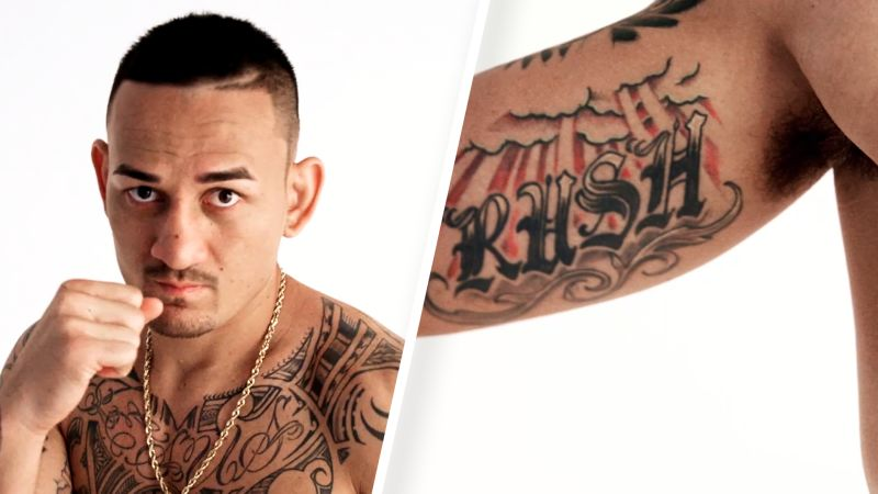 Watch Tattoo Tour Ufc Champion Max Holloway Runs Us Through His Ink Gq Video Cne Gq Com Gq