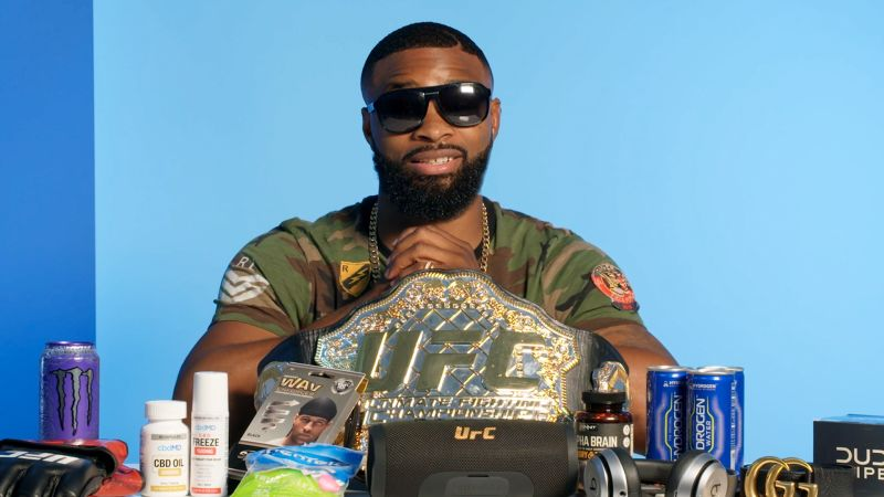 c4a776530 UFC Champion Tyron Woodley Runs Us Through His 10 Essentials - GQ Videos -  The Scene