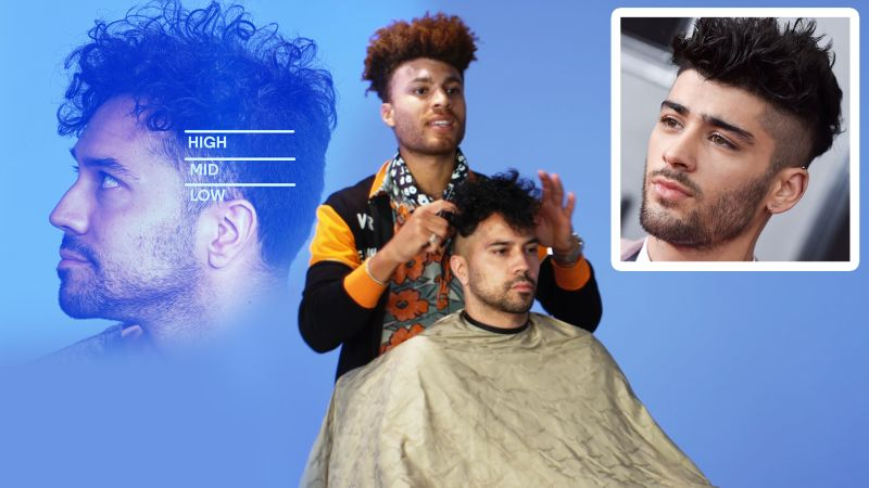 Zayn Malik's High Fade Haircut Recreated by a Master Barber