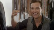 Matthew McConaughey Used to Kill Armadillos for a Living
