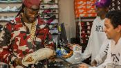 2 Chainz Brags About His Sneaker Collection