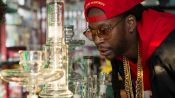2 Chainz Smokes Out of a $10,000 Bong